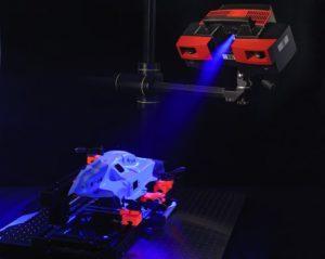 atos gom scanner 3d luce blue